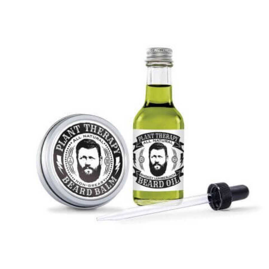 Essential oil beard care set