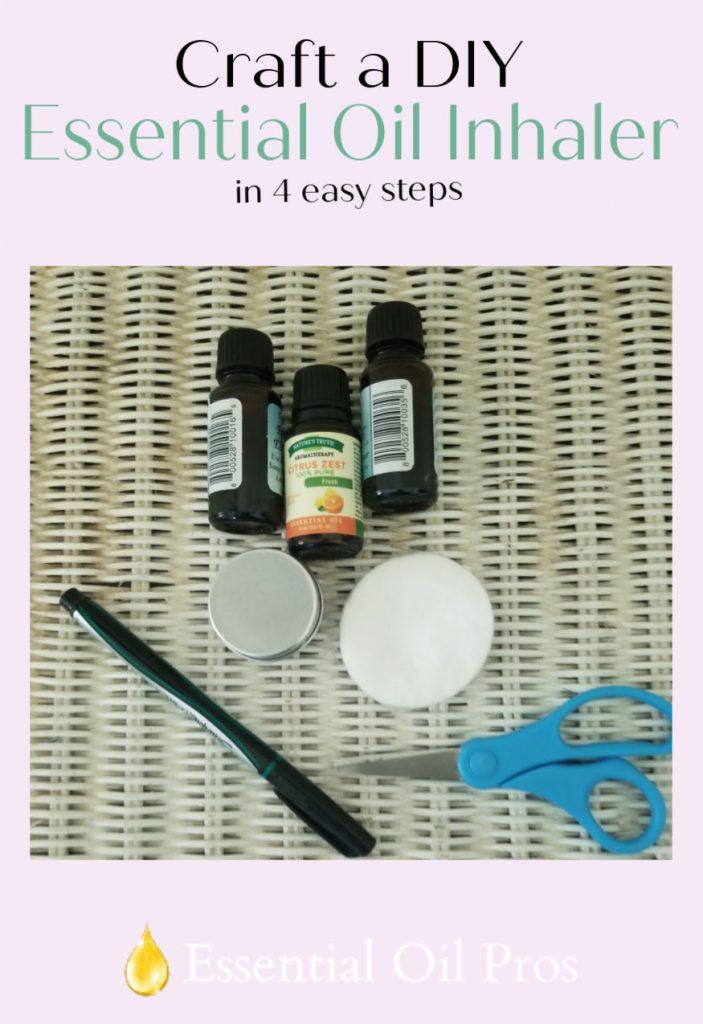 DIY essential oil inhaler