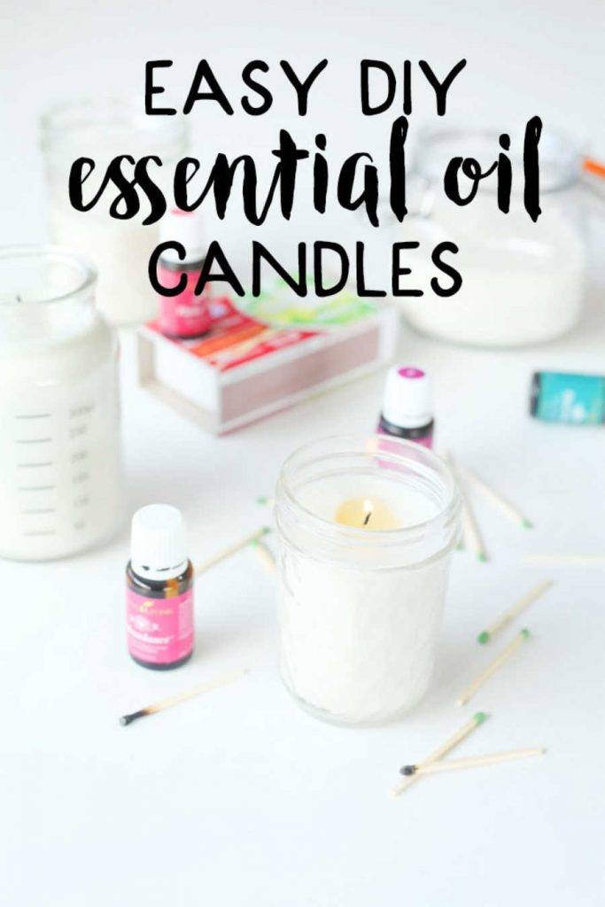 candles for essential oil lovers