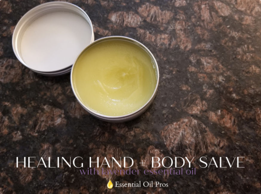 lavender essential oil salve