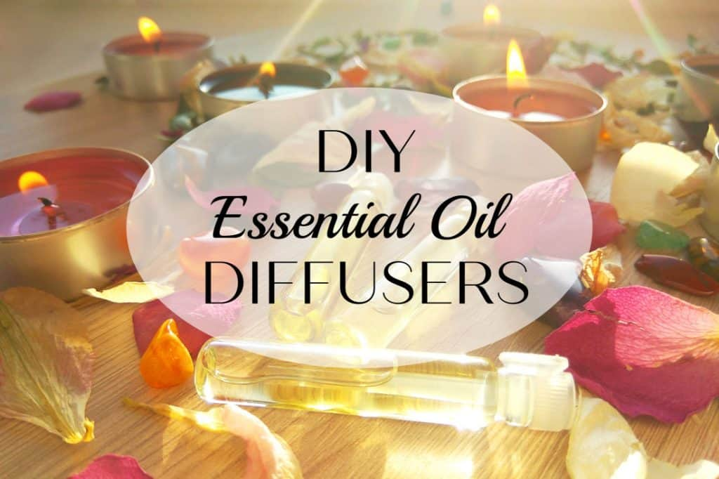 DIY essential oil diffusers